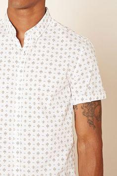 Geo Print Shirt - Shirts + Polos - 2000220007 - Forever 21 EU English