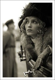 If I travel to Russia should I go blonde again just to have soft blonde curls under a fur hat?
