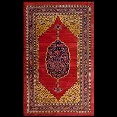 Stock Id: #2405 General Rug Type: Persian Formal Specific Rug Type: Bijar Circa: 1880 Color: Red Origin: Persia Width: 7' 8'' ( 233.7 cm ) Length: 12' 4'' ( 375.9 cm )