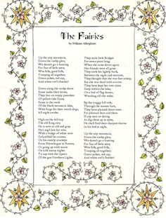 poem a dream william allingham Discover ideas about famous poems the fairies william allingham - yahoo  image search results  a dream within a dream -- edgar allen poe -- poetry.