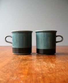 Your place to buy and sell all things handmade Ceramic Cups, Ceramic Pottery, Marimekko, Teal Colors, Bone China, Kitchenware, Finland, Scandinavian, Objects