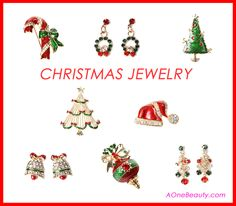 Christmas Jewelry http://www.aonebeauty.com/accessories/?sort=newest #christmas   #christmasjewelry   #beauty   #fashionjewellery