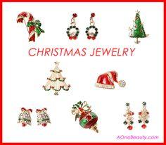 Christmas Jewelry http://www.aonebeauty.com/accessories/?sort=newest #christmas   #christmasjewelry   #beauty   #fashionjewellery