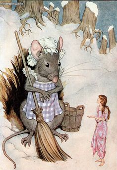 'Thumbelina' an illustration from 'Hans Andersen Fairy Tales' – Illustrated by Milo Winter http://www.amazon.com/gp/product/1445508672/ref=as_li_tl?ie=UTF8&camp=1789&creative=9325&creativeASIN=1445508672&linkCode=as2&tag=reaboo09-20&linkId=UC6UO7ESJVQMDEIZ