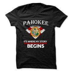 Pahokee - Florida - Its Where My Story Begins ! Ver 5 - #plain tee #sweatshirt and leggings. GET => https://www.sunfrog.com/States/Pahokee--Florida--Its-Where-My-Story-Begins-Ver-5.html?68278