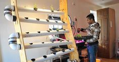 Rael Clarke, the 24-year-old owner of LOFT LIC, transformed a Long Island City office into a laboratory where organic vegetables and fish are grown using an eco-friendly aquaponics system.
