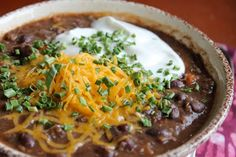 Real Girls Eat Real Butter: Black Bean, Corn, and Quinoa Chili