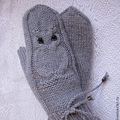 Варежки Knitted Hats, Knitting, Tricot, Breien, Stricken, Weaving, Knits, Crocheting, Yarns