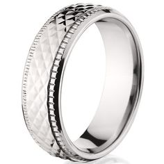 Titanium Rings Carved Wedding Bands sizes 8 to 11 Rumors Jewelry Company. $11.99