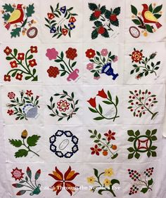 Margaret Potts blocks made by Margo Cramer. Telling Stories Through the Needle's Eye: A Potts Palooza—Part Two