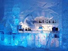 Hotel de hielo, Quebec