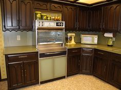 1000 images about american industrial design on pinterest for Avocado kitchen cabinets
