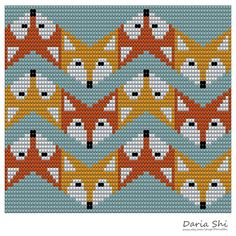 Crochet Bag Tapestry Design 21 New Ideas Cross Stitching, Cross Stitch Embroidery, Cross Stitch Patterns, Tapestry Crochet Patterns, Loom Patterns, Design Patterns, Design Ideas, Pattern Ideas, Design Art