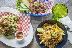 $ Eat BKK (Eat in Bangkok) | YONGE/SHEPPARD: 4704 Yonge St., S of Sheppard | Thai restaurant devoted to Bangkok-style street food. It's from Phanom (Patrick) Suksaen, who also runs Kub Khao.  No alcohol. No patio. | BlogTO