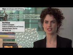Neri Oxman on 3D printing, additive manufacturing, and her 'Multiversites Creatives' exhibit at the Pompidou.