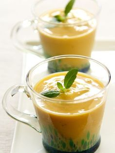 Recette de Smoothie tropical (mangue-banane)