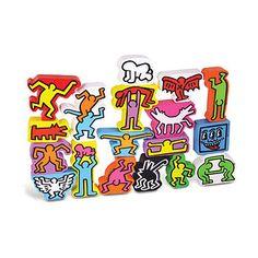 Keith Haring Stacking Blocks