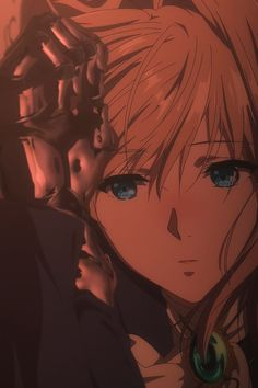 Animated gif about cute in Violet Evergarden by ~ Naho ~
