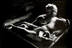 W. Eugene Smith - Tomoko Uemura In Her Bath, Minamata, Japan, 1972.