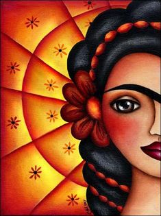Official art site for Cathy Ashworth featuring Day of the Dead, Frida Kahlo, Hearts, Mixed-Media and more. Kahlo Paintings, Cute Canvas Paintings, Mini Canvas Art, Cross Stitch Games, Lion Craft, Girl Face Drawing, Frida Art, African Paintings, Art Hub