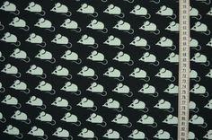 Weiteres - Kinderjersey Mäuseparade mint - ein Designerstück von stoffe-tippel…