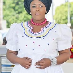 Pedi Traditional Attire, Sepedi Traditional Dresses, African Attire, African Fashion Dresses, African Dress, African Jewelry, Weeding, Queens, Plus Size