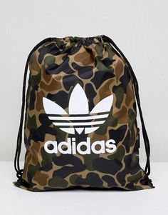 3ad040739fd18 adidas Originals Gym Bag In Camo CD6099  gymclothes  gymbagstring Men s  Backpack