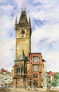 Wiesław Grąziowski - Prague. Town hall