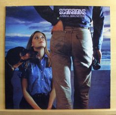 SCORPIONS - Animal Magnetism - mint minus - Vinyl LP - The Zoo Make it real RARE