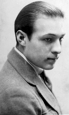 Rudolph Valentino - silent movies star by Movie-Fan, via Flickr