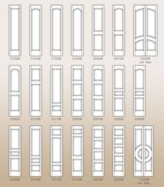 CUSTOM PAINT GRADE INTERIOR DOORS - by Doors for Builders, Inc. | Medium Density Fiberboard Interior Doors (MDF)