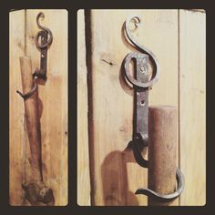 Hook No.70 #366hooks A hook for the garden shed. To hold long handled tools like…