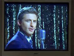 """""""I love you,"""" (wink) says Dean O'Gorman. (gif) REQUIRED DAILY VIEWING for shy people. Don't forget to hear his Kiwi accent in your head."""