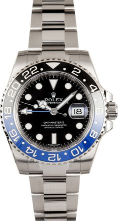 """Rolex GMT-Master II """"Batman"""" close to the top of my list of watches I want to buy next."""