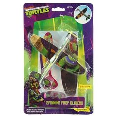 Teenage Mutant Ninja Turtles 2 Pack Plane Glider Play Set for Indoor or Outdoor Fun with Real Spinning Propellers ** Details can be found by clicking on the image.Note:It is affiliate link to Amazon.