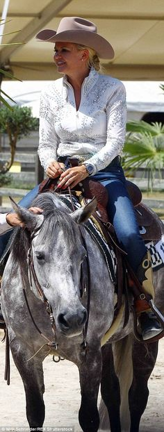 Michael Schumachers wife and daughter put on a brave face at Swiss horse show Vintage Tractors, Michael Schumacher, Show Horses, Mail Online, Her Style, Daily Mail, Put On, Brave, Daughter