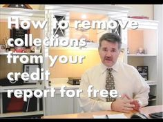 How to remove a collection from your credit report for free. Credit Score Tips - YouTube