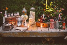 of July Ideas: outdoor party inspiration from Bash Please, Brandon Kidd and Found Vintage Rentals Backyard Movie Party, Outdoor Movie Party, Backyard Movie Nights, Outdoor Movie Nights, Movie Night Party, Party Time, Outdoor Parties, Outdoor Events, Pool Parties