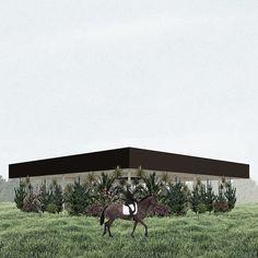 Pedro Duarte Bento · Khora, Proposal for a Summer Pavilion, 2014
