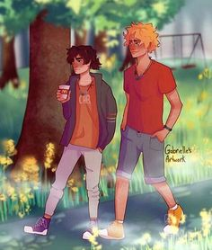 """gabrielles-artwork: """"This one is older, but I feel like it still deserves to be posted """" Will: . notice me senpai Percy Jackson Ships, Percy Jackson Fan Art, Percy Jackson Books, Percy Jackson Fandom, Magnus Chase, Will Solace, Solangelo Fanart, Percabeth, Saga"""