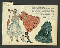 Florence Nightingale English Nurse Vintage 1953 Paper Doll from Sweden