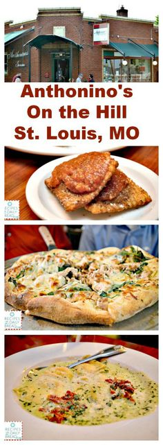 Anthonino's On the Hill - We enjoyed a delicious authentic Italian meal while visiting St. Louis? http://recipesforourdailybread.com/wp-content/uploads/2014/06/Anthoninos-On-the-Hill/  #stlouis #restaurants