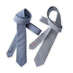 Men's Cotton Tie #makeyourmark