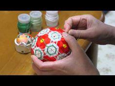 熊本の節気と暮らし 雨水 雛飾りに想いを込めて 肥後てまり - YouTube