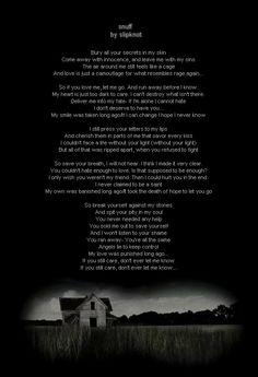 slipknot quotes | Snuff By Slipknot Image - Snuff By Slipknot Graphic Code