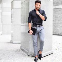 Macho Moda - Blog de Moda Masculina  Traje Business Casual para Homens a2257fbba50
