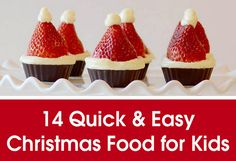 We can never have too many quick and easy Christmas food recipes. The end of each year brings school Christmas parties, work Christmas parties and friend's Christmas parties. That means a LOT of Christmas baking. Let us make it easier…