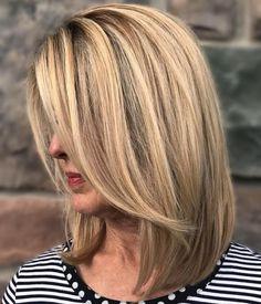 Long Blonde Bob Hairstyle