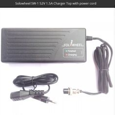 High quality 230V / 52V – 1.5A charger. Supplied with standard European power cord. Fit 52V 2013 Solowheel with silver button. Contact us for chargers fitting former Solowheel.