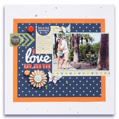 #scrapbook page by Meghann Andrew